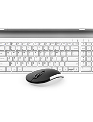 cheap -BOW Hw193 Membrane keyboard Office Mouse Wireless 1200 Mouse DPI Lithium Battery Portable