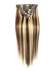 cheap -Clip In Human Hair Extensions High Quality Classic Women's Daily