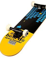 23 дюймы Стандартные скейтборды На каждый день Спортивный ABCE-9-Белый Черный Желтый