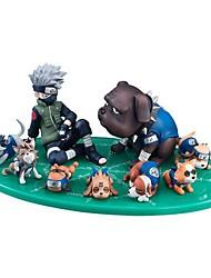 economico -action figures anime ispirate a naruto hatake kakashi pvc modello da 3 a 9 cm giocattoli giocattolo bambola