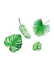 Недорогие -Геометрия ботанический Наклейки Простые наклейки Декоративные наклейки на стены, Винил Украшение дома Наклейка на стену Стена Окно