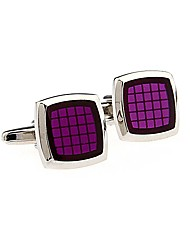 cheap -Geometric Purple / Red / Blue Cufflinks Copper Fashion Men's Costume Jewelry For Wedding / Daily