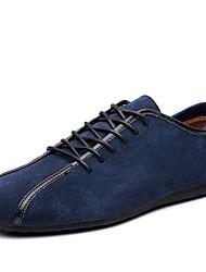 cheap -Men's Driving Shoes PU(Polyurethane) Spring / Fall Sneakers Black / Navy Blue / Light Blue