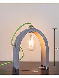 Luz Ambiente Artistíco Luminária de Mesa Ajustável Interruptor On/Off Alimentação AC 220V Azul/Amarelo titânio Azul Claro Cinza Claro