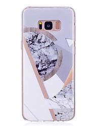 preiswerte -Hülle Für Samsung Galaxy S8 Plus S8 IMD Rückseitenabdeckung Marmor Weich TPU für S8 Plus S8 S7 edge S7 S6 edge S6 S5 Mini S5