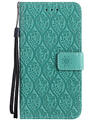 cheap -Case For Nokia Lumia 630 Nokia Lumia 635 Nokia Lumia 650 Nokia Lumia 640 Nokia Nokia 6 Nokia 5 Card Holder Wallet with Stand Embossed
