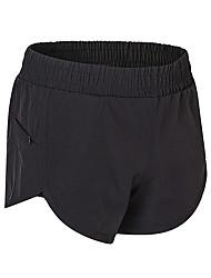 cheap -Women's Running Shorts Fitness, Running & Yoga Baggy Shorts for Yoga Running/Jogging Pilates Polyester Loose Grey Pink Blue Green Black