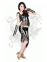 Lolita Clássica e Tradicional Grécia antiga Feminino Roupa Cosplay Preto Vermelho Dourado Prateado Sino Sem Manga Meio Corpo