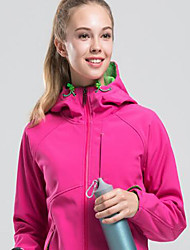 cheap -Women's Hiking Fleece Jacket Outdoor Keep Warm Windproof Top Single Slider Camping / Hiking Casual Camping Running