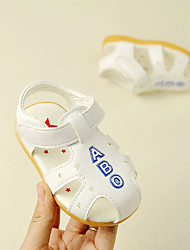 Baby Shoes PU Summer First Walkers Sandals for Casual Yellow White