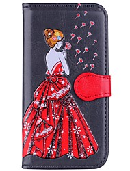 cheap -Case For Samsung Galaxy S8 Plus S8 Card Holder Wallet with Stand Full Body Sexy Lady Hard PU Leather for S8 Plus S8 S7 edge S7 S6 edge S6