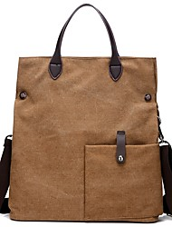 cheap -Women Bags Canvas Shoulder Bag Zipper for Event/Party Casual Winter Fall Coffee Gray White Blue