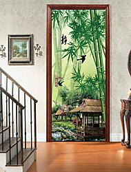 abordables -Animaux Botanique Stickers muraux Autocollants muraux 3D Autocollants muraux décoratifs, Vinyle Décoration d'intérieur Calque Mural Mur