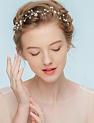 cheap -Alloy Headbands with Rhinestone 1pc Wedding Party / Evening Headpiece