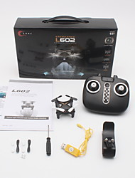 cheap -RC Drone L602 4 Channel 6 Axis 2.4G With HD Camera 720P RC Quadcopter Optical Flow Positioning Forward/Backward LED Lights One Key To