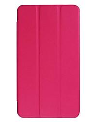 abordables -Estuche de 7 pulgadas en color sólido PU de cuero para acer iconia one b1-790