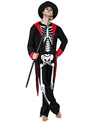 cheap -Costume Male Costume White/Black Vintage Cosplay Polyester Long Sleeves Bishop Briefs Christmas Dress