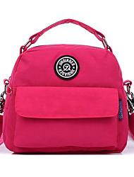 cheap -Women Bags Polyester School Bag Zipper for Casual All Season Dark Red Sky Blue Navy Blue Gray Green Fuchsia