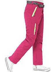 economico -Per bambini Pantaloni da sci Caldo Ompermeabile Antivento Indossabile Traspirabilità Campeggio e hiking Sci Attività all'aperto polyster