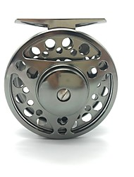 cheap -Fishing Reel Ice Fishing Reels Fly Reels 1:1 Gear Ratio+2 Ball Bearings Exchangable Fly Fishing Bait Casting - FTS 75mm