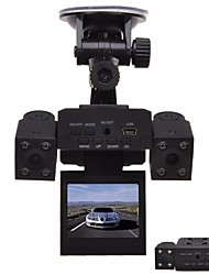 cheap -1280 x 480 Car DVR Wide Angle 2inch Dash Cam with Night Vision 8 infrared LEDs Car Recorder