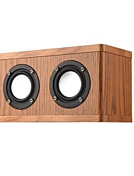 cheap -W10 Bluetooth Speaker Bluetooth 4.2 Audio (3.5 mm) Bookshelf Speaker Black Brown