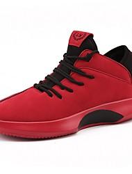 economico -Da uomo Scarpe Scamosciato Finta pelle Inverno Autunno Suole leggere scarpe da ginnastica Basket per Sportivo Nero Giallo Rosso