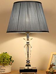 cheap -Crystal Crystal Table Lamp For Crystal 220-240V Light Brown Dark Pink Blue