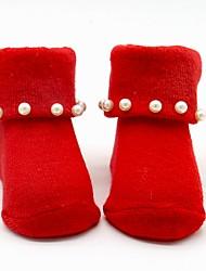 cheap -Girls' Socks & Stockings,All Seasons Cotton Yellow Red