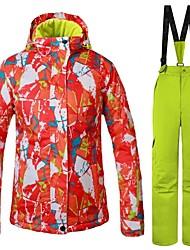 cheap -Women's Ski Jacket Warm, Ventilation, Windproof Ski / Snowboard / Multisport / Winter Sports Polyester Clothing Suits Ski Wear