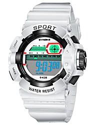 cheap -Men's Sport Watch Japanese Casual Watch PU Band Casual Black / White / Blue