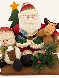 1pç Natal Enfeites de Natal Decorações de férias,38*20*37