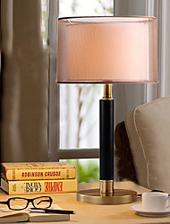 cheap -Ambient Light Artistic Table Lamp Eye Protection On/Off Switch AC Powered 220V Black