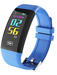 cheap -Smart Bracelet Heart Rate Monitor Pedometer Remote Control Fitness Tracker Activity Tracker Sleep Tracker Sedentary Reminder Bluetooth 4.0