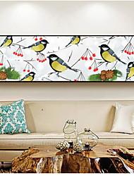 abordables -Animal Peinture a l'huile Art mural,Alliage Matériel Avec Cadre For Décoration d'intérieur Cadre Art Cuisine Salle à manger