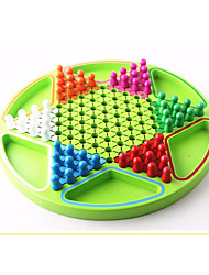 Stern-Halma Wooden Checkers Game Hexagonal Chinese Checkers Puzzle Educational Toys For Kids Family Party Board Game