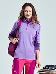 cheap -Women's Hiking Fleece Jacket Outdoor Winter Fast Dry Windproof Top Single Slider Running/Jogging Hiking Camping Jogging Bike/Cycling