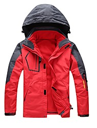 cheap -Unisex Hiking 3-in-1 Jackets Outdoor Winter Windproof Rain-Proof Wearable Heat Retaining Breathability Winter Jacket 3-in-1 Jacket Full