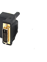 cheap -DVI Adapter, DVI to 3RCA Adapter Male - Female 1080P Gold-plated copper 1.0 Gbps