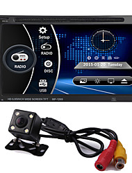 economico -2 din 6,95 '' pollici lcd touch screen car audio 12 v autoradio supporto radio bluetooth mani libera vista posteriore autoradio stereo