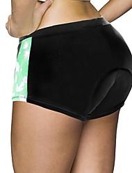 baratos -ILPALADINO Mulheres Cueca Boxer Acolchoada / Shorts para Ciclismo Moto Shorts / Shorts Acolchoados / Calças Tapete 3D, Secagem Rápida,