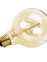 Недорогие -GMY® 1шт 40 Вт E26/E27 G95 Тёплый белый 2200 К Ретро Диммируемая Декоративная Лампа накаливания Vintage Эдисон лампочка AC 220-240V V