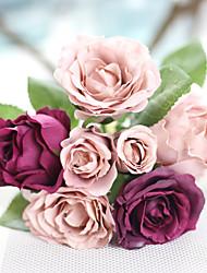 Недорогие -Искусственные Цветы 1 Филиал Модерн Розы Букеты на стол