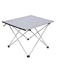 Недорогие -Туристический стол На открытом воздухе Складной Aluminum Alloy для Походы - Серебряный