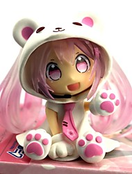 cheap -Anime Action Figures Inspired by Vocaloid Sakura Miku PVC 7 CM Model Toys Doll Toy