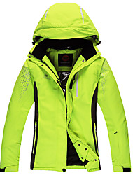 cheap -Unisex Ski Jacket Thermal / Warm Windproof Skiing Ski/Snowboarding Polyester