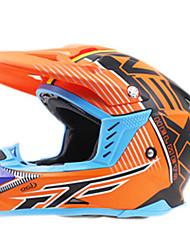 Недорогие -Мотоциклетный шлем BMX Шлем CE Велоспорт 2 Вентиляционные клапаны Впитывает пот и влагу С возможностью регулировки Пластик + + PCB