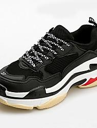 abordables -Unisexe Chaussures Tulle Printemps / Automne Confort Chaussures d'Athlétisme Course à Pied Invalide Rouge / Vert / Noir / blanc