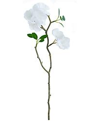 1 Afdeling Polyester Sakura Bordblomst Kunstige blomster