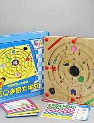 baratos -Labirinto / Labirintos Magnéticos O stress e ansiedade alívio / Magnética / Brinquedos de descompressão Plástico Suave Crianças / Adulto